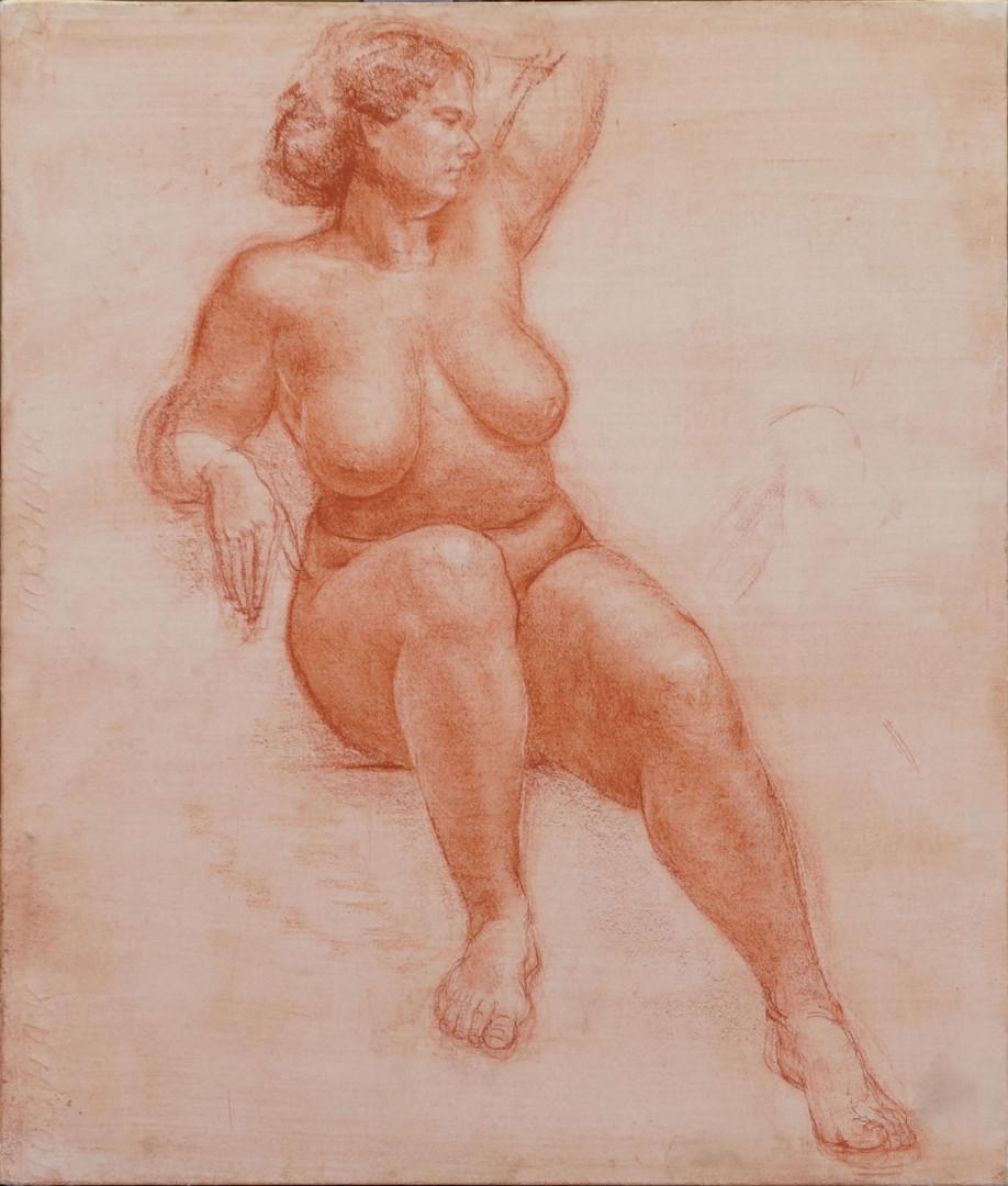 Николай Шаталов - Female nude