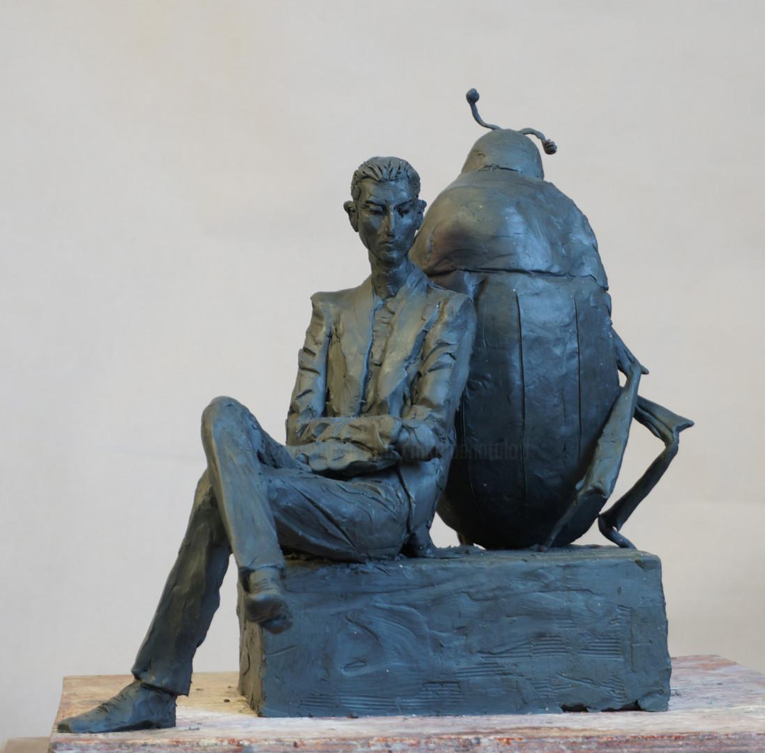 Николай Шаталов - Kafka with beetle