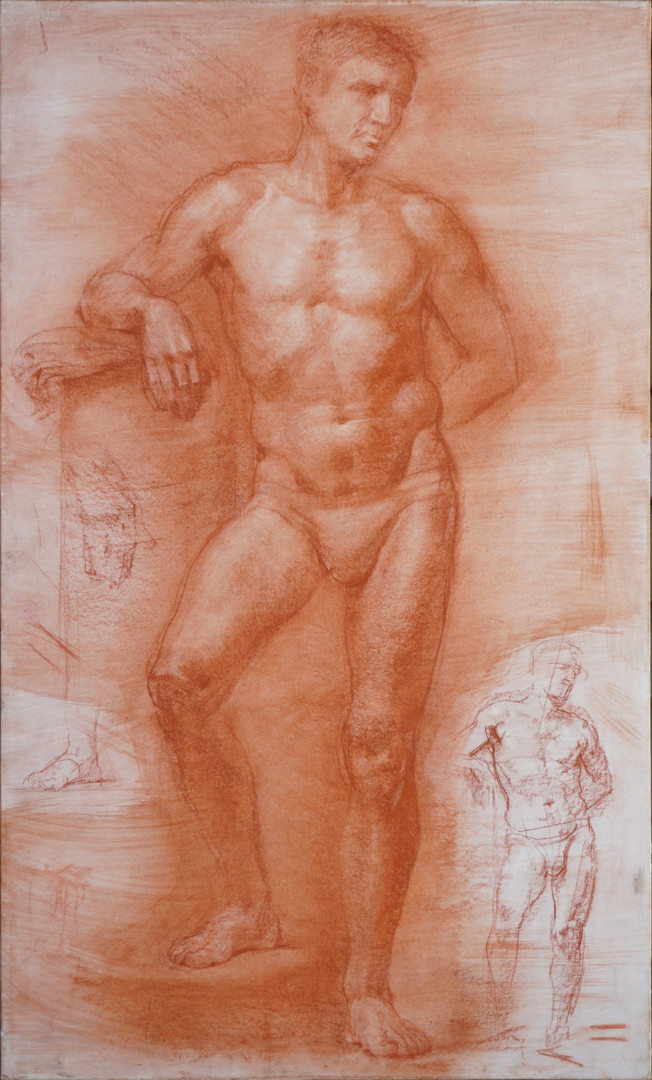 Николай Шаталов - Male figure.