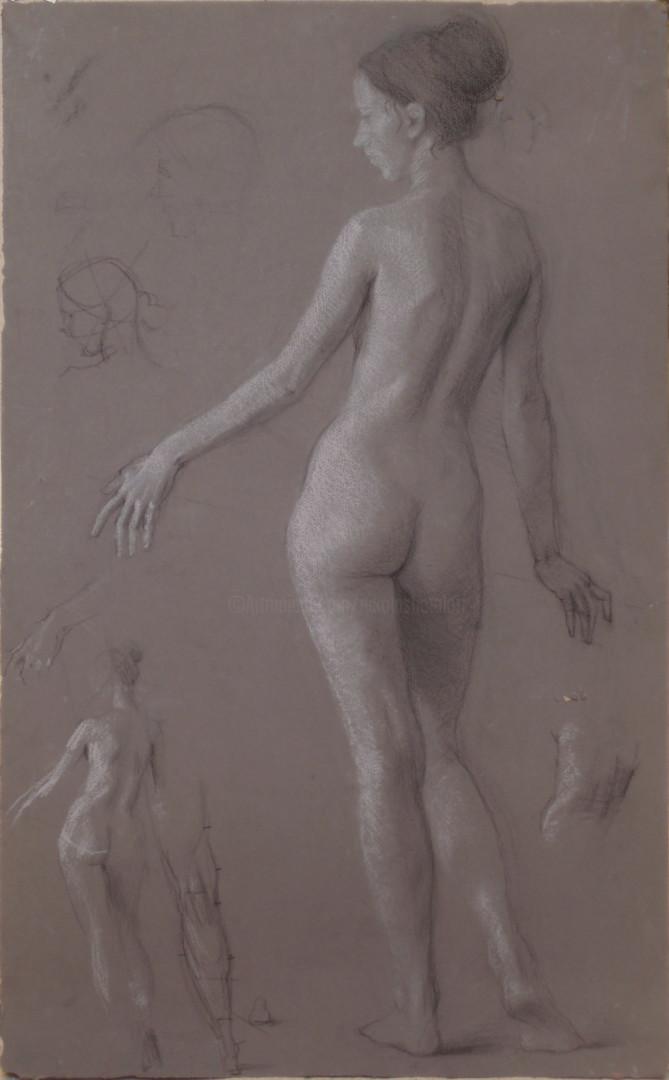 Николай Шаталов - Female nude.