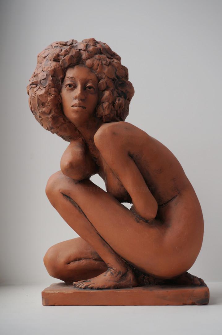 Николай Шаталов - Sitting woman