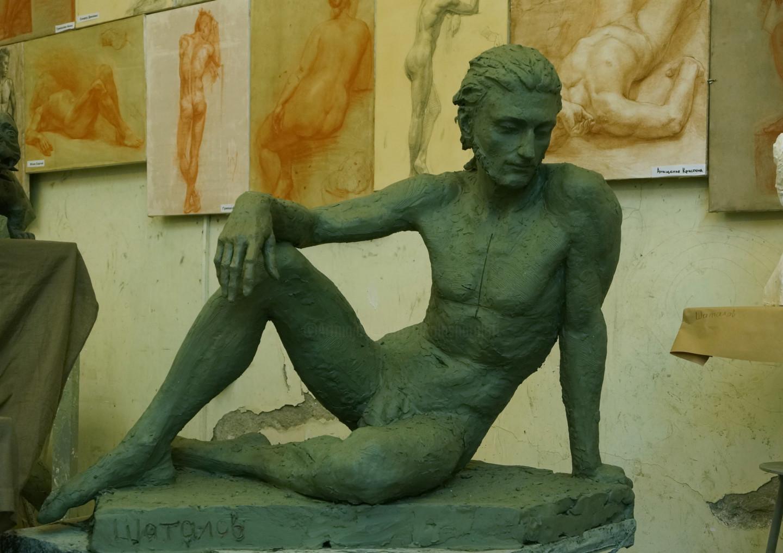Николай Шаталов - Study lifesize etude